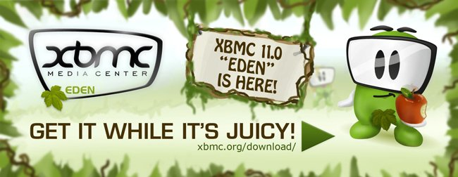 XBMC 11.0 Eden has been released