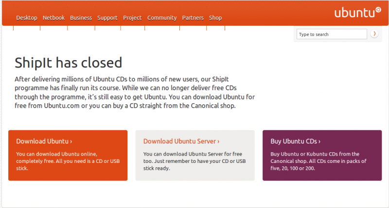 ShipIt has closed!